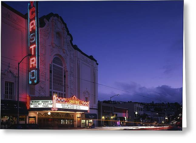 Long Street Greeting Cards - San Franciscos Castro District Greeting Card by Mountain Dreams