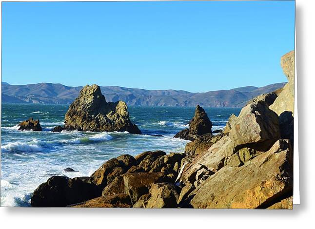Point Lobos Greeting Cards - San Franciscos Point Lobos Greeting Card by David Lobos
