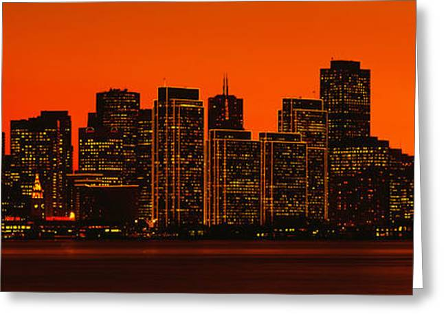 On Location Greeting Cards - San Franscisco Ca Greeting Card by Panoramic Images