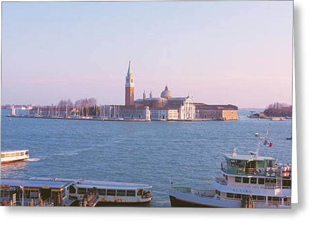 Venice Tour Greeting Cards - San Giorgio Maggiore Venice Italy Greeting Card by Panoramic Images
