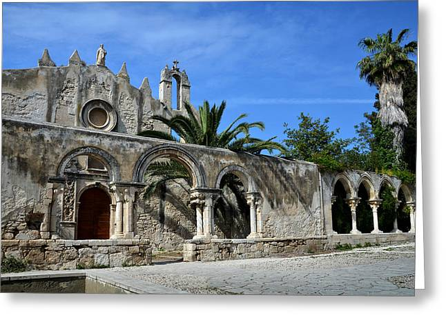 Arab-norman Greeting Cards - San Giovanni alle catacombe in Siracusa Greeting Card by RicardMN Photography