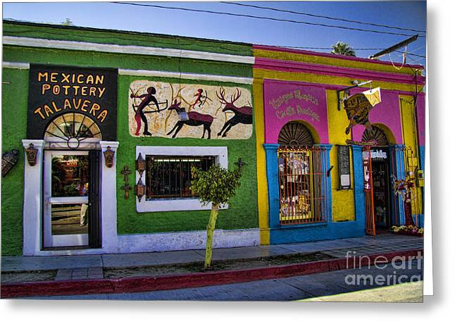 Baja California Greeting Cards - San Jose del Cabo Greeting Card by David Smith