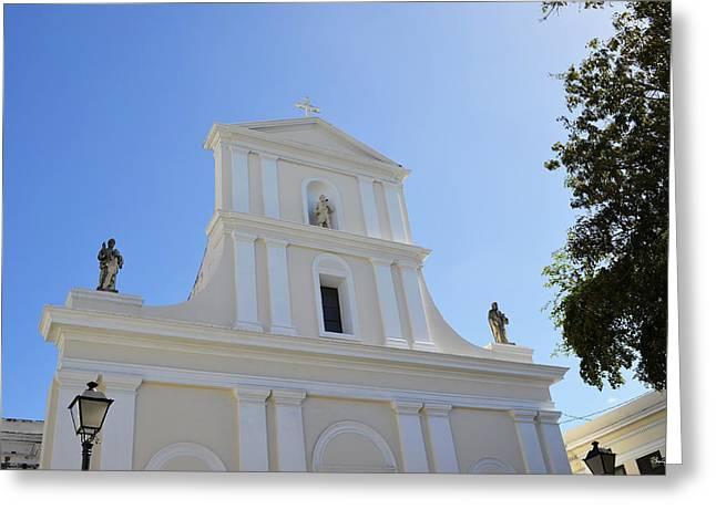 San Juan Bautista Greeting Cards - San Juan Bautista Greeting Card by Shanna Hyatt