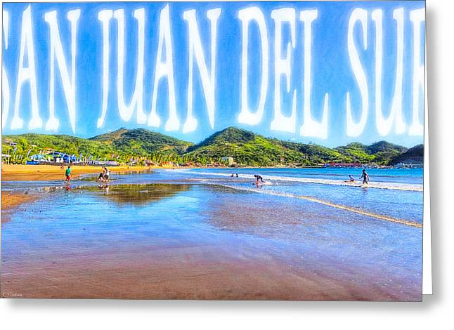 Seaside Decor Posters Greeting Cards - San Juan del Sur - NIcaragua Greeting Card by Mark Tisdale