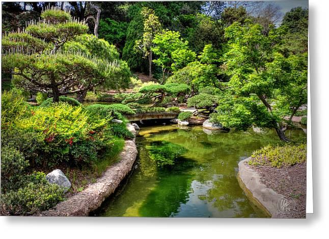 Qi Greeting Cards - San Marino - Huntington Botanical Gardens 004 Greeting Card by Lance Vaughn
