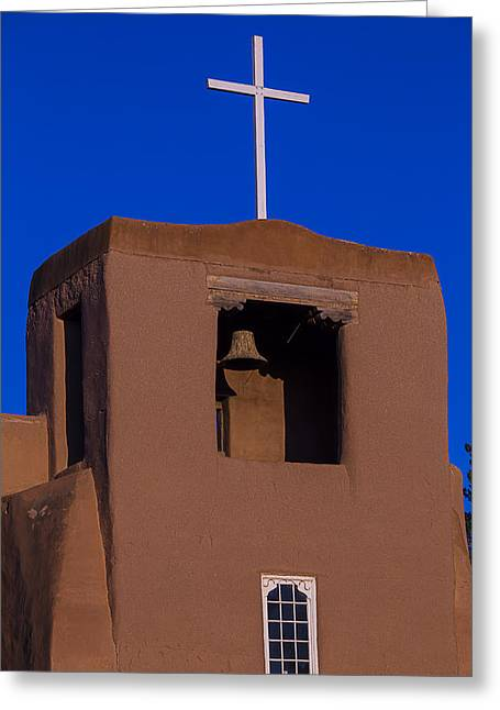 Miguel Greeting Cards - San Miguel Church Greeting Card by Garry Gay