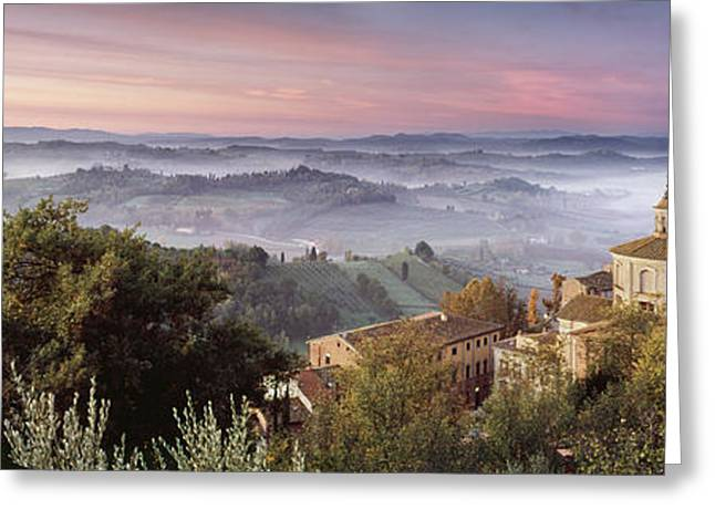 Arno Greeting Cards - San Miniato - Tuscany Greeting Card by Rod McLean
