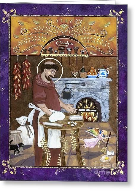 San Pascual Greeting Card by Sue Betanzos