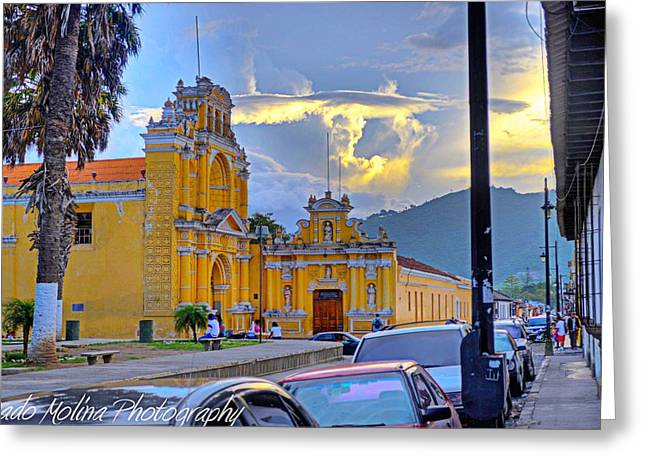 Pedro Greeting Cards - San Pedro Greeting Card by Dado Molina