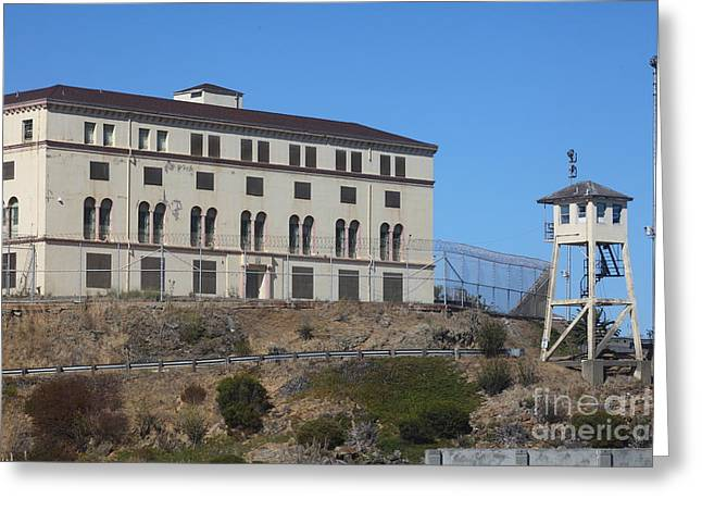 San Quentin Prison In Marin County California 5d29482 Greeting Card by Wingsdomain Art and Photography