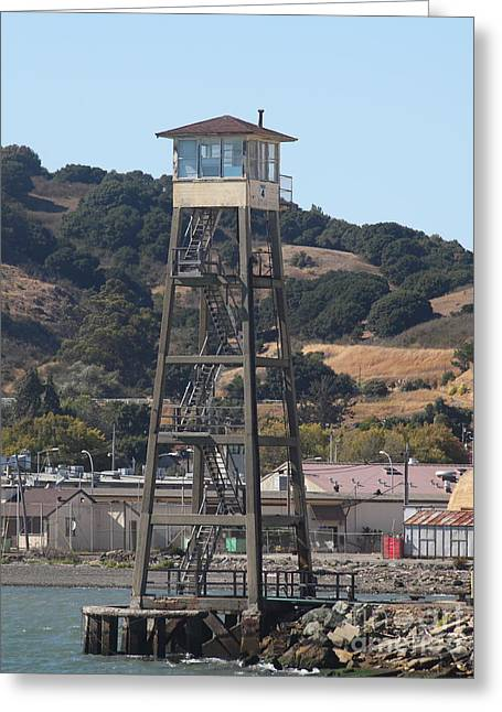 San Quentin Prison In Marin County California 5d29483 Greeting Card by Wingsdomain Art and Photography