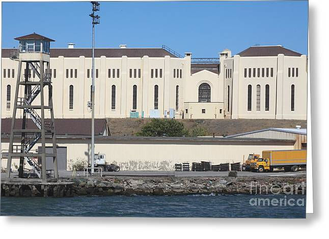 San Quentin Prison In Marin County California 5d29485 Greeting Card by Wingsdomain Art and Photography