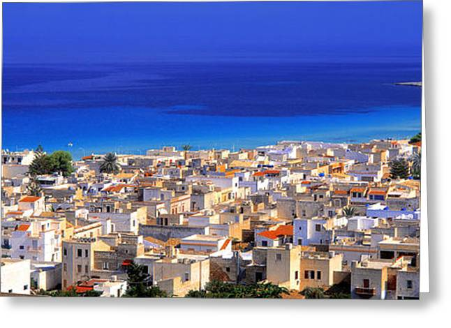 San Vito Lo Capo, Sicily, Italy Greeting Card by Panoramic Images