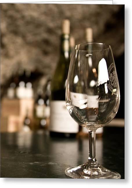 Degustation Greeting Cards - Sancerre wine Greeting Card by Oleg Koryagin