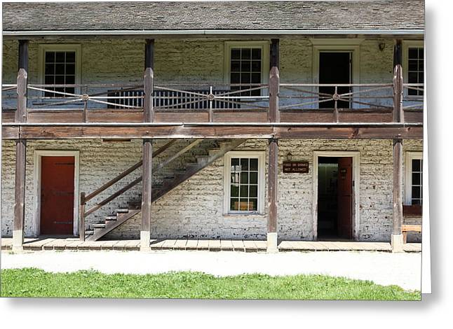 Sanchez Adobe Pacifica California 5D22655 Greeting Card by Wingsdomain Art and Photography