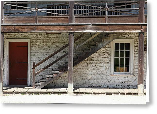 Then Greeting Cards - Sanchez Adobe Pacifica California 5D22656 Greeting Card by Wingsdomain Art and Photography