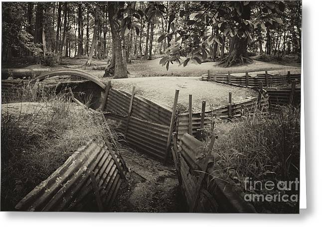 Western Front Greeting Cards - Sanctuary Woods  Greeting Card by Rob Hawkins