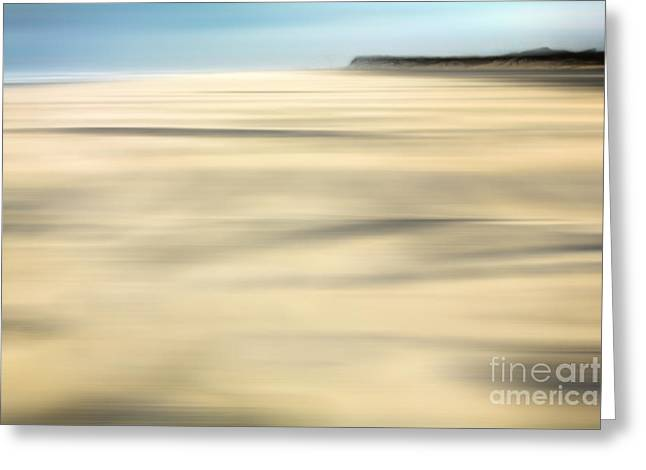 Surreal Landscape Greeting Cards - Sand - a Tranquil Moments Landscape Greeting Card by Dan Carmichael