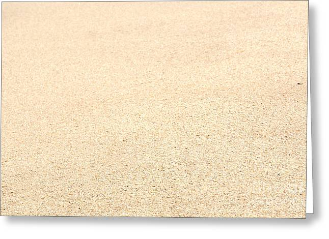 Southern Province Greeting Cards - Sand Greeting Card by Christina Rahm