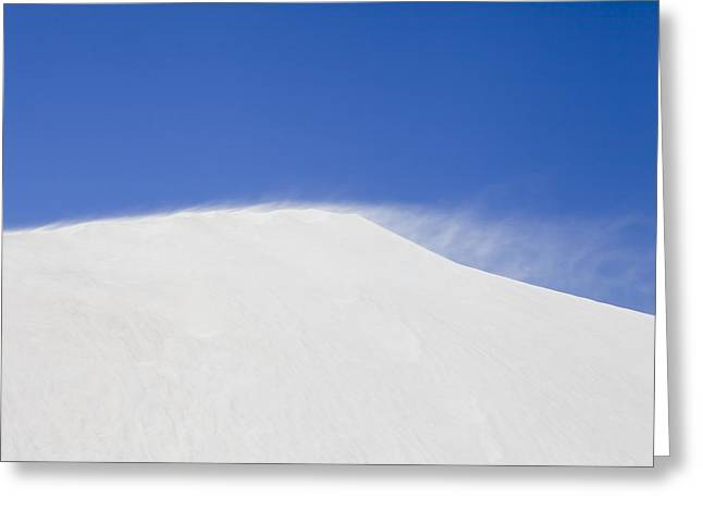 Sanddunes Greeting Cards - Sand dune Greeting Card by Science Photo Library