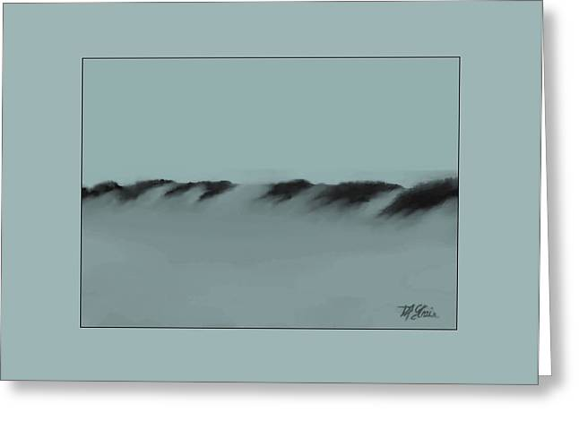 Fineartamerica Greeting Cards - Sand Dunes 1 Greeting Card by Diane Strain