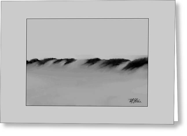 Fineartamerica Greeting Cards - Sand Dunes 2 Greeting Card by Diane Strain