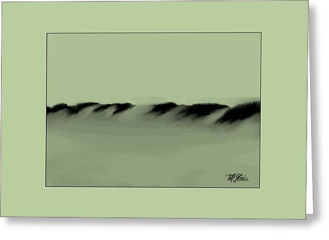 Fineartamerica Greeting Cards - Sand Dunes 5 Greeting Card by Diane Strain