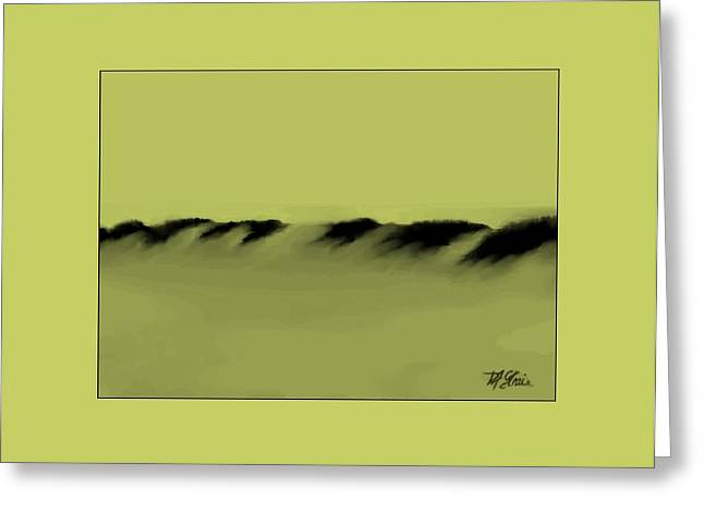 Fineartamerica Greeting Cards - Sand Dunes 6 Greeting Card by Diane Strain