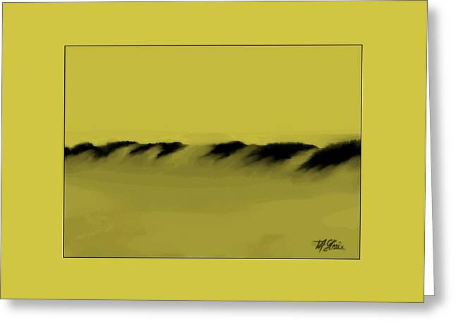 Fineartamerica Greeting Cards - Sand Dunes    7 Greeting Card by Diane Strain