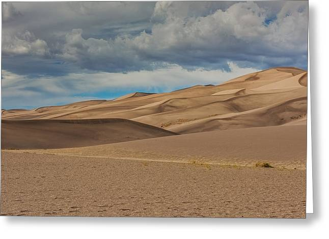 Great Sand Dunes National Park Greeting Cards - Sand Dunes Greeting Card by Paul Freidlund