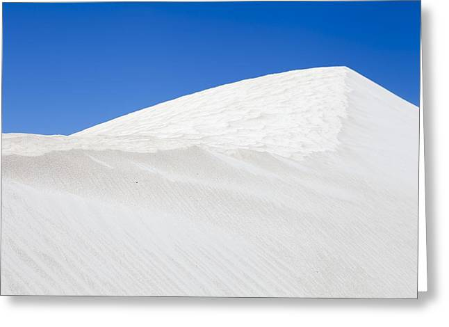 Sanddunes Greeting Cards - Sand dunes Greeting Card by Science Photo Library