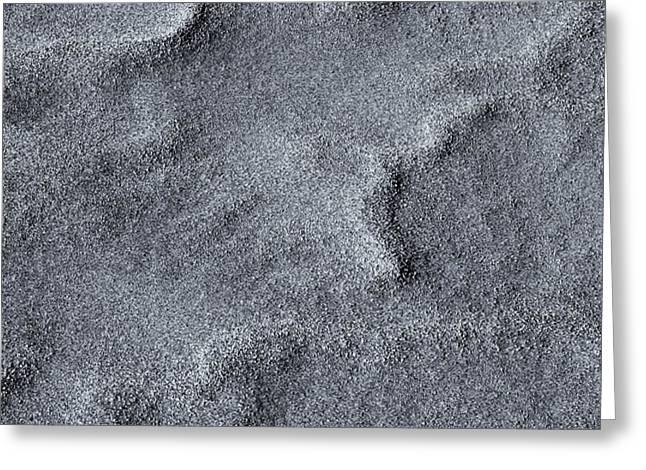 Sand Swirls Greeting Card by Mike  Dawson
