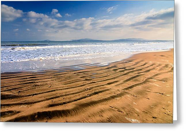 Sand Waves Greeting Card by Evgeni Dinev