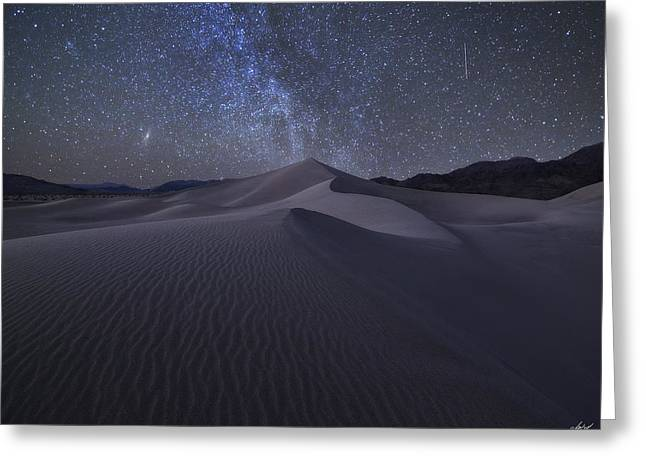 Star Valley Greeting Cards - Sandbox Under the Stars Greeting Card by Peter Coskun