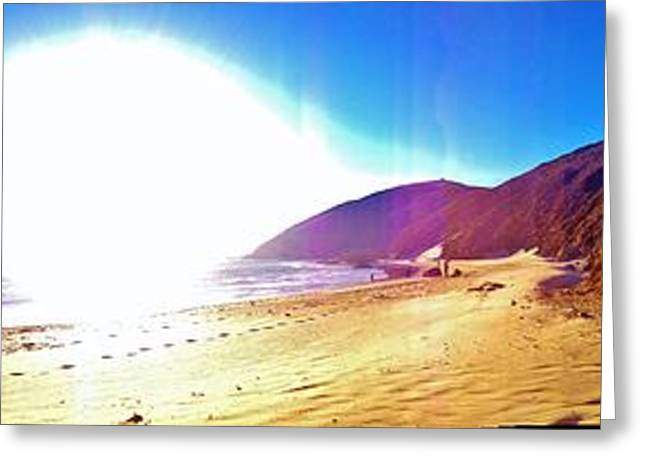 Big Sur California Greeting Cards - Sands Of Pfeiffer-3 Greeting Card by Tom  Shaw