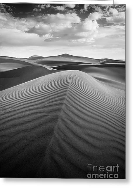 Sand Pattern Greeting Cards - Sands of Time Greeting Card by Alexander Kunz