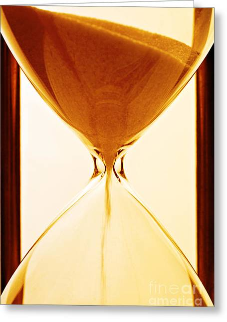 Timer Greeting Cards - Sands of Time Greeting Card by Colin and Linda McKie