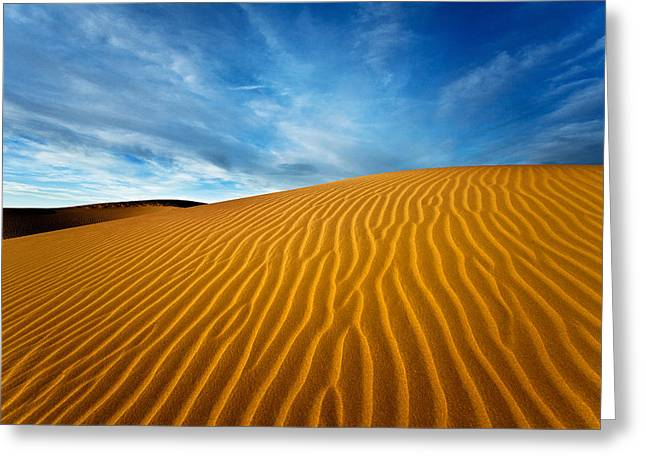 Clounds Greeting Cards - Sands of Time Greeting Card by Darren  White