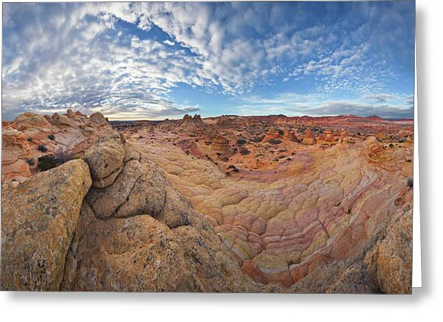 Sandstone Formation Vermillion Cliffs N Greeting Card by