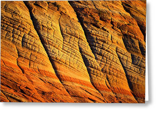 Sandstone Formation Greeting Cards - Sandstone of Time Greeting Card by David Lee Thompson