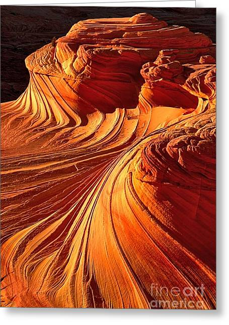 Sandstone Formation Greeting Cards - Sandstone Silhouette Greeting Card by Adam Jewell