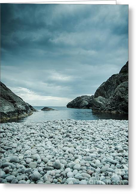Kjona Greeting Cards - Sandvik i Flekkefjord Greeting Card by Mirra Photography