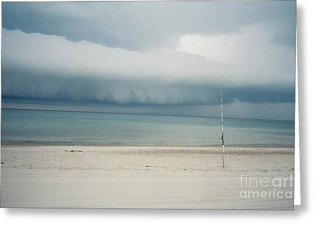 Sandy Neck Beach Sandwich Greeting Card by Lisa  Marie Germaine