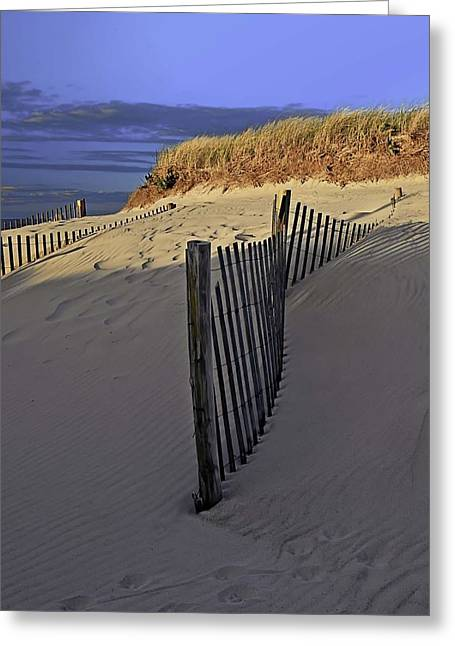 East Dennis Greeting Cards - Sandy Neck Greeting Card by Keith Woodbury