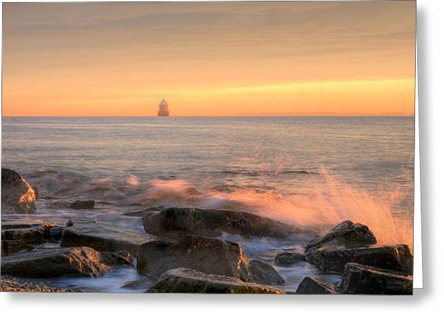 Annapolis Md Greeting Cards - Sandy Point Shoal  Greeting Card by JC Findley