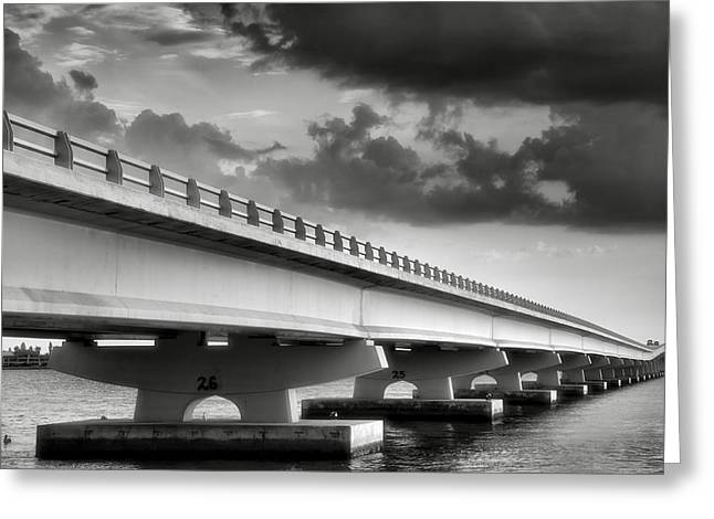 Storm Prints Photographs Greeting Cards - Sanibel Causeway II Greeting Card by Steven Ainsworth