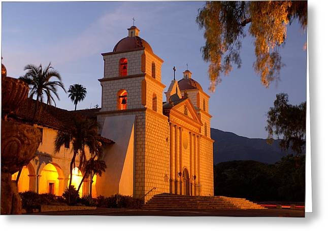 Santa Barbara Greeting Cards - Santa Barbara Greeting Card by Christian Heeb
