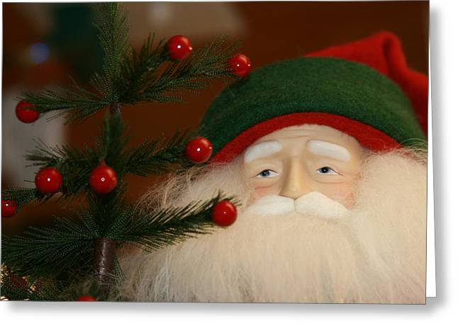 Nicholas Greeting Cards - Saint Nicholas Greeting Card by Sharon Mau