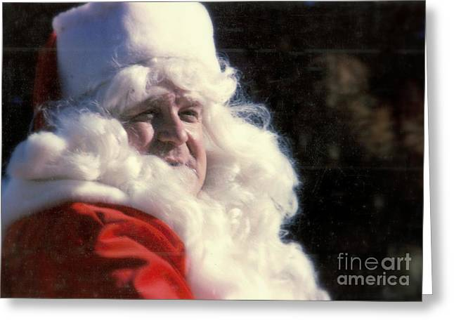 John Goodman Greeting Cards - Santa Claus John Goodman Greeting Card by Michael Hoard