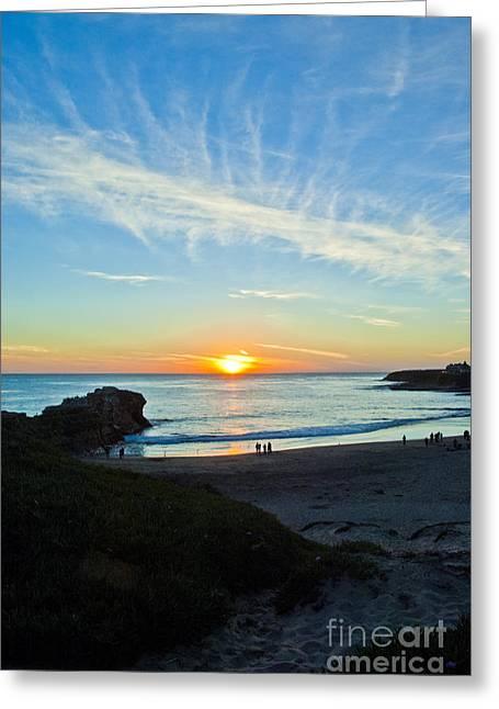 Pch Greeting Cards - Santa Cruz beach 1 Greeting Card by Micah May